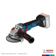 【BOSCH 博世】18V 鋰電免碳刷可調速砂輪機-空機(GWS 18V-100 SC)