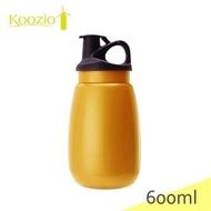 【山野賣客】Koozio/亮桔色水壺-600ml水瓶,不鏽鋼水壺休閒水壺自行車水壺衛生無毒