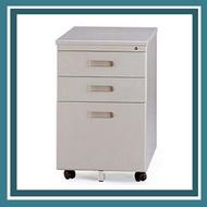 【必購網OA辦公傢俱】OA-40L三層公文檔案可鎖活動櫃 (高)