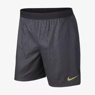 【賓工廠】NIKE FLEX STRIDE 7IN SHORT BR 短褲 黑色 慢跑 滿版 AR3376-010