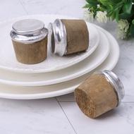 40毫米底部木材熱水瓶塞軟木塞蓋蓋塞水壺零件