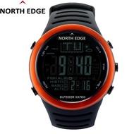 นาฬิกาดิจิตอลเหมาะสำหรับผู้ชาย พยากรณ์อากาศวัดความสูงเครื่องวัดความสูงวัดระดับความสูงสำหรับปีนเขาไต่เขาตกปลากีฬากลางแจ้ง