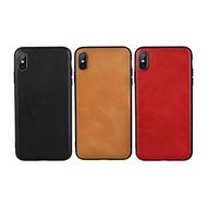 【愛瘋潮】JISONCASE Apple iPhone Xs Max 真皮保護殼 背殼 真皮 手機殼