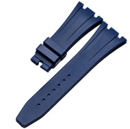 28mm Rubber Watch Strap Band with Buckle Clasp for Audemars Piguet Royal Oak Offshore 15703 AP100