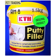 KTH PUTTY FILLER FOR CEMENT AND WOOD Surfaces /1.5kg