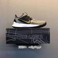 """現貨 耐吉Nike Kyrie Low 2 \""""Black White\"""" 歐文2代 低幫 實戰 休閒運動籃球鞋"""