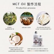 Jungle Life 防彈咖啡MCT油,MCT Oil, (100% 椰子提煉) 防彈咖啡 生酮飲食 椰子油 195ml【漲價通知】