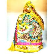 太子佛具--A66熱銷款神明衣王爺 黃龍袍買衣服送奉帽 媽祖 王爺 母娘神明衣 神明帽 法器