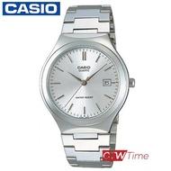 ส่งฟรี !! CASIO Standard นาฬิกาข้อมือผู้ชาย สายสแตนเลส รุ่น MTP-1170A-7ARDF (สีเงิน / หน้าปัดสีเงิน)