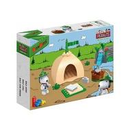 【Fun心玩】NO.7517 BanBao 邦寶積木 SNOOPY 史努比系列 露營趣(樂高Lego通用) 積木