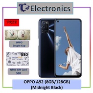 OPPO A92 (FREE $30 NTUC Voucher & OPPO Couple Cup) 2 Years Warranty By OPPO Singapore - T2 electronics