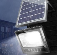 太陽能燈戶外庭院燈新農村光伏家用超亮1000W院子照明led防水路燈 小明同學