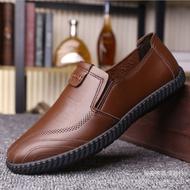 💥Beauty shoes💥รองเท้าผู้ชายรองเท้าหนังชายรองเท้าหนังชายรองเท้าคัชชู ผชcasual Shoes Men