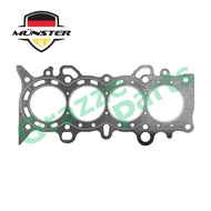 Münster Cylinder Head Gasket 12251-PLD-004 for Honda Civic 1.7 S5A Stream 1.7 S7A D17A (Carbon)