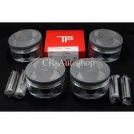 CLK Piston & Ring (4pcs/set) 81.0mm 81.5mm 82.0mm Pin size 20mm for turbo charged AE86 4AGE 4G93 GTi GSR & B16A engines
