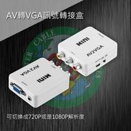 VD-205 AV轉VGA訊號轉接盒