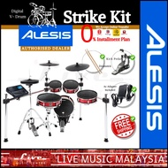 Alesis Strike Kit 5-piece Digital Drum, Electronic Drum Kit w/Drumstick and Adapter