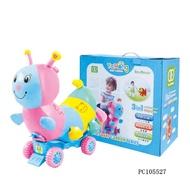 《二手》可刷卡!YaHong PET BABY CARRIER系列,毛毛蟲 學步車 滑行車 玩具車 有牽引繩!