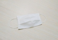 口罩布套 搭配一般口罩 醫療口罩 薄棉透氣 白色款