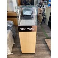 吉田二手傢俱❤玻璃展示立櫃手錶櫃精品櫃飾品櫃珠寶櫃3C櫃手機櫃