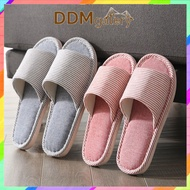 18 Comfy Soft Comfortable Indoor Home Hotel Slippers Striped Slipper Shoes DDMgalery