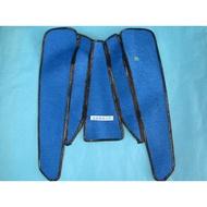 旭東偉士牌零件店...VESPA 偉士牌 老車 90.P90S.P100D 125.ET3 都適用藍色地毯.