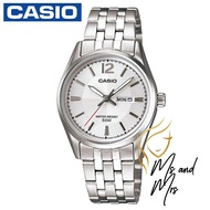 CASIO นาฬิกาข้อมือผู้หญิง สายสแตนเลส รุ่น LTP-1335D
