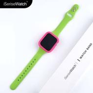 ใช้ Iwatch6สายคล้องเอวซิลิโคน Applewatch5se4รุ่น Apple Fine การเคลื่อนไหว Band