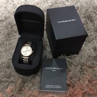 Emporio Armani Analog Silver Dial Women's Watch - AR1840