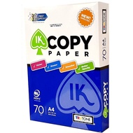 【IKcopy】環保影印紙 70磅 (A4) (A3) (B4) 每箱5包 A4平均一包73元 (含稅)