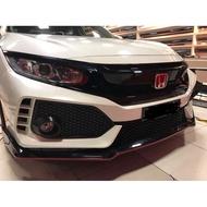 Honda civic fc typer type r type-r bodykit body kit front rear bumper grill fender spoiler 2016 2017 2018 2019 2020 2021