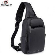 ❏♛◕Bange Brax USB Multi Compartment Big Capacity Water Resistant Card Pocket Outdoor Travel Bottle 9.7 Inch Ipad Sling B