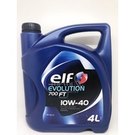 ELF EVOLUTION 700 FT 10W40 (10W-40) SEMI SYNTHETIC ENGINE OIL 4L 10W-40