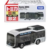 【FUN心玩】TM082A5 158448 正版 豐田 Sora TOMICA 多美小汽車 Toyota 模型車 禮物