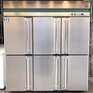 《祥順餐飲設備》 台製 六門全冷藏冰箱/營業用冰箱/全藏冰箱/冷藏冰箱/六門冷藏冰箱/直立式冷藏冰箱