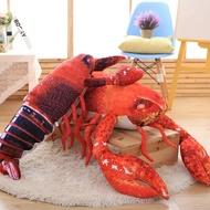 【快速出貨】創意大龍蝦抱枕仿真公仔布娃娃玩偶小龍蝦搞怪吃貨禮物搞笑男生  創時代