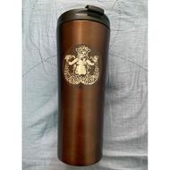 (下單馬上出貨)美國 西雅圖派克市場 星巴克創始店 不鏽鋼 隨行杯/保溫杯 473ml