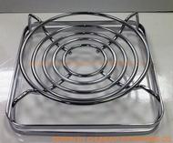 寒冬夯 輪狀 導熱爐架 隔熱墊 爐架 導熱架-泡茶小火鍋蓄熱節能省瓦斯 2入一組