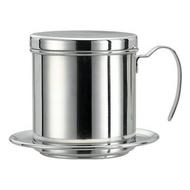 TIAMO 不鏽鋼越南咖啡濾器 越南壺 滴漏式咖啡 越南濾杯 不鏽鋼濾杯 Tiamo越南咖啡滴漏壼-單把(HG2686)