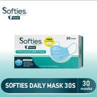 Softies Daily Mask 3 Ply Isi 30S