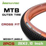 1 pair INNOVA MTB Bike Tires 26x2.0 /29x2.1 /29x2.25/ 27.5x2.25 inch 60TPI Anti Pture Tires Road 700*25C Ultralight Tire 2pc