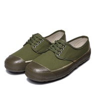 ⊕Authentic cheap.in male and female shoes yellow rubber combat farmland canvas