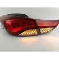 現代 2012年Elantra 專用韓版跑馬燈款LED尾燈 EX專用韓版跑馬燈款LED尾燈