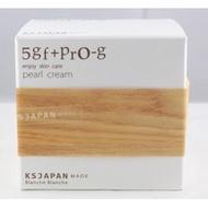 *日式雜貨館*日本免稅店 BlancheBlanche 5GF+PRO-G Pearl Cream保濕精華霜 EGF