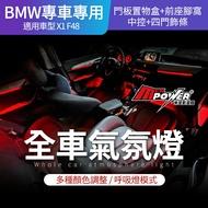【不含安裝編程】BMW X1 F48 專車專用 全車彩色氣氛燈 氣氛燈 氛圍燈【禾笙影音館】