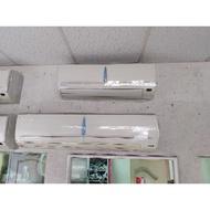 二手中古日立1對2分離式冷氣,1噸加1.5噸,line帳號chin0290或電0955318576詢問