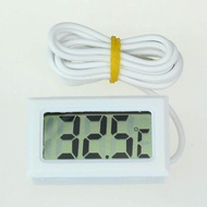 Redcolourful Mini LCD Digital Thermometer Fridge Freezer Thermometer for Fish Tank Aquarium Color:White