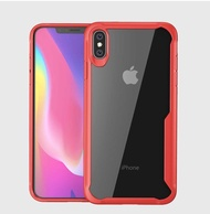 กันกระแทกเคสโทรศัพท์ IPhone XS MAX X XR นุ่มเคสโปร่งใส