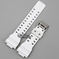 Casio GA-100A-7/G-8900A-7/GR-8900A/GW-8900 white glossy strap