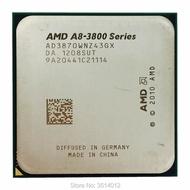 AMD A8-Series A8-3870K A8 3870 K 3.0 GHz Quad-Core CPU AD3870WNZ43GX ซ็อกเก็ต FM1
